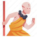 art, character, fighter, martial, monk, rpg, shaolin icon