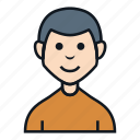 avatar, boy, casual, character, man, people, profile icon
