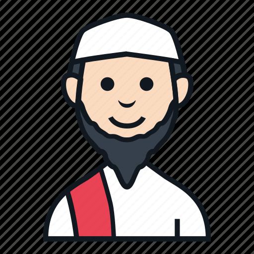 avatar, boy, islam, man, muslim, people, profile icon