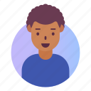 african, avatar, man, people, profile, user icon