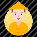 avatar, costume, japanese, man, people, profile icon