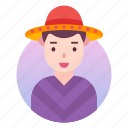 avatar, costume, japanese, man, outfit, people, profile icon