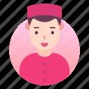 avatar, costume, indian, man, people icon