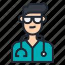 avatar, doctor, man, medical, people, surgeon, virus