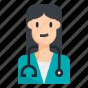doctor, medical, people, surgeon, virus, woman, avatar