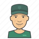 adult, avatar, face, head, male, man, military, soldier icon