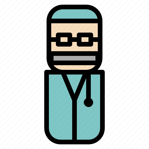 avatar, design, doctor, people icon