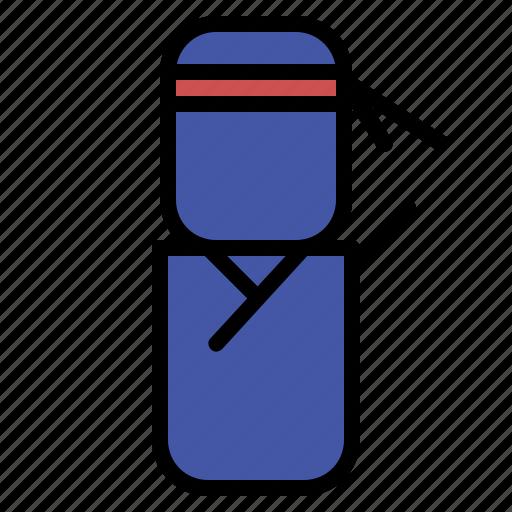 avatar, design, ninja, people icon