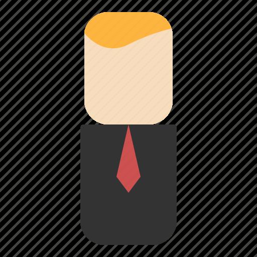 avatar, businessman, design, people icon