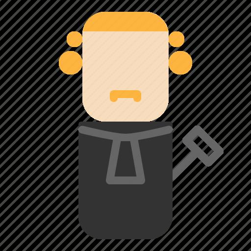 avatar, design, judge, people icon