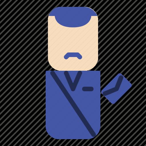 avatar, design, people, postman icon