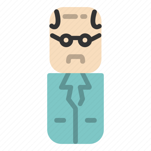 avatar, design, people, scientist icon