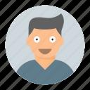 avatar, happy, laugh, smile icon