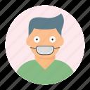 avatar, boy, man, mask icon