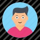 avatar, face, happy, laugh icon