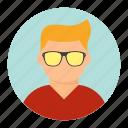 avatar, boy, cool, man icon