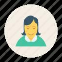 avatar, business, female, person, profile, user, woman