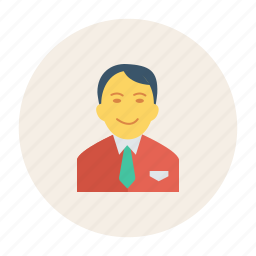 avatar, business, man, person, profile, user, young icon