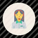 avatar, female, help, person, profile, souuport, user icon