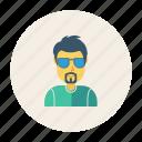 avatar, employee, gental, man, person, profile, user