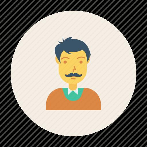avatar, gental, hero, man, person, profile, user icon