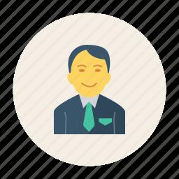 avatar, hero, member, person, profile, user, young icon