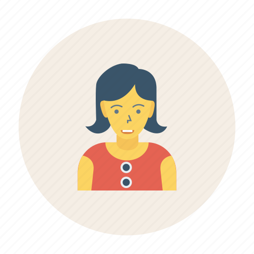 Avatar, lady, person, profile, user, woman, worker icon - Download on Iconfinder