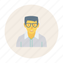 avatar, old, person, profile, user, worker, young