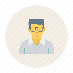avatar, old, person, profile, user, worker, young icon