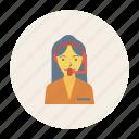 avatar, female, girl, person, profile, support, user