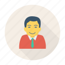 avatar, boy, business, man, person, profile, user icon