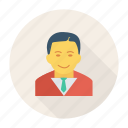 avatar, business, gental, man, person, profile, user icon