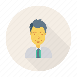 avatar, business, hero, person, profile, user, worker icon
