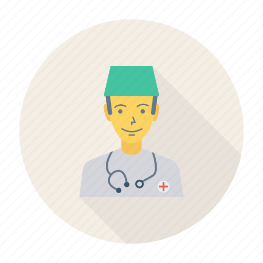 avatar, doctor, male, man, person, profile, user icon