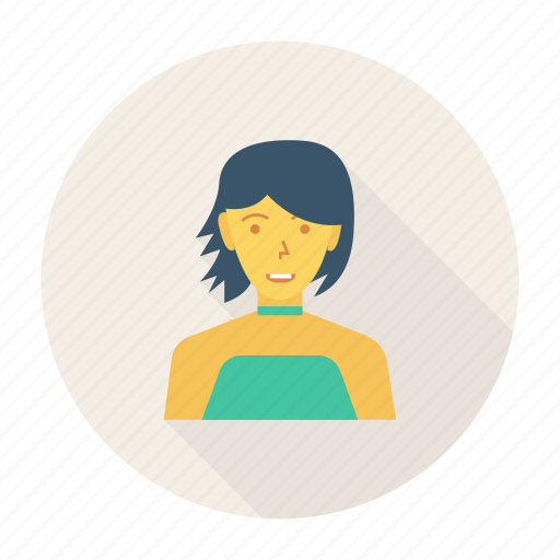 avatar, fashion, lady, person, profile, user, woman icon