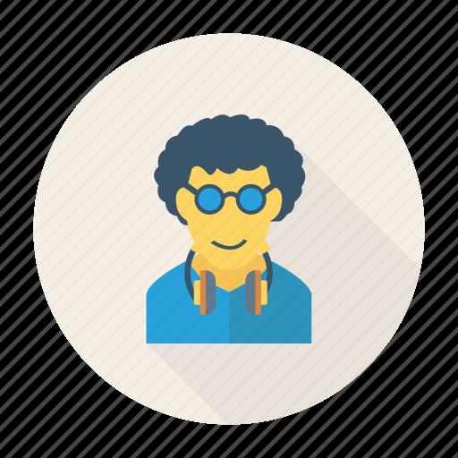 avatar, fashion, music, person, profile, user, young icon