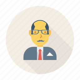 avatar, employer, man, old, person, profile, user icon