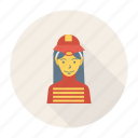 avatar, female, person, profile, user, woman, worker icon