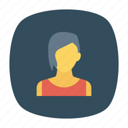 avatar, woman, worker, younglady icon