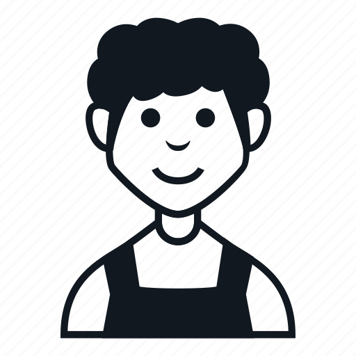 avatar, boy, character, farmer, man, people, smile icon