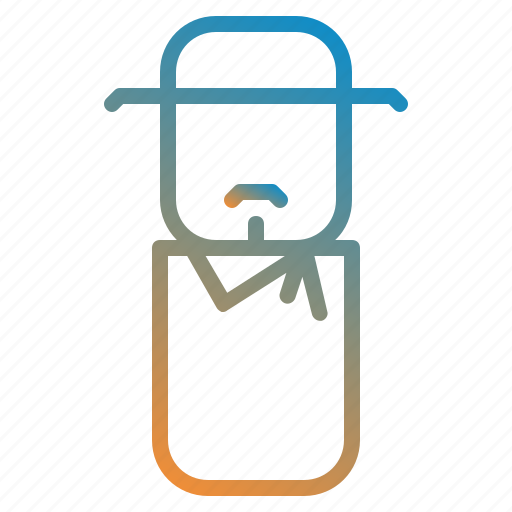 avatar, cowbay, design, people icon