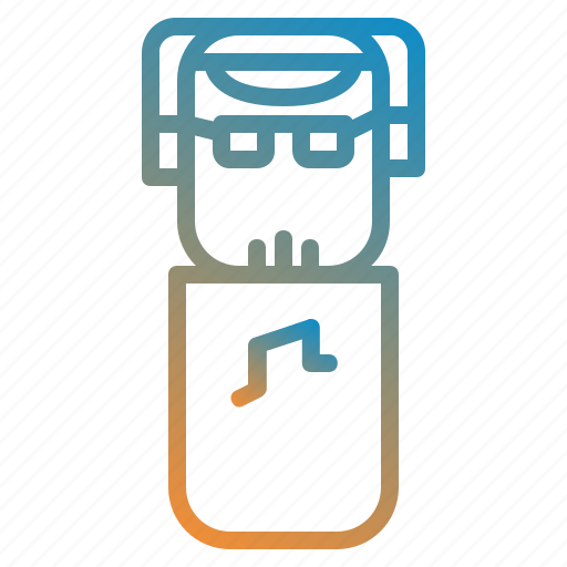 avatar, design, dj, people icon