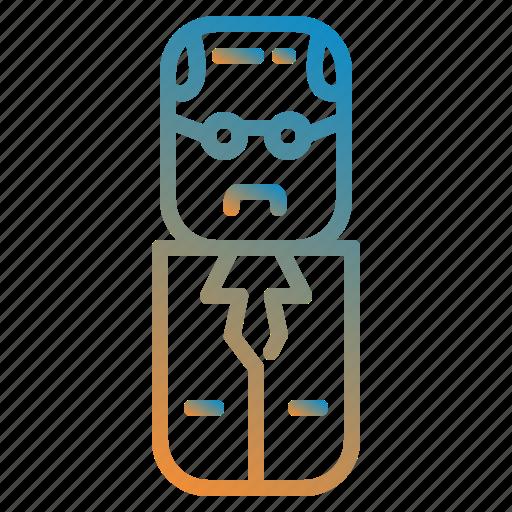 avatar, design, people, scientist icon