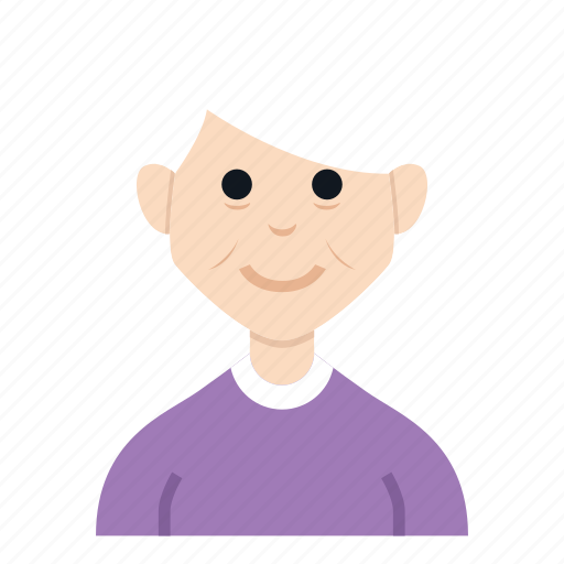avatar, character, grand mother, grandma, people, smile, woman icon