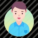account, avatar, man, people, profile, user icon