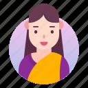 account, avatar, people, profile, user, woman