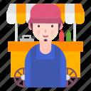 avatar, profession, shop, store, vendor icon