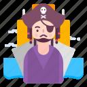 avatar, people, person, pirates, profile icon