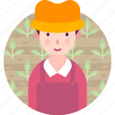 agriculture, avatar, farmer, man, people, profession icon