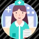 avatar, medical professsional, nurse, people, profession